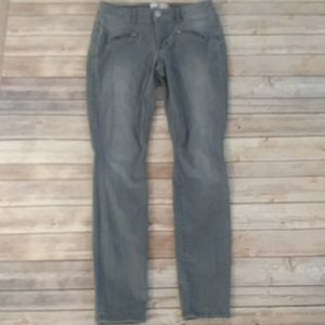 Cabi Skinny Jeans With Zipper Detailing